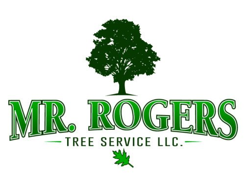 Mr Rogers Tree Service Logo Graphic Design By Victory Sign Company Victory Sign Company